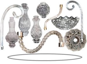 Chandelier parts retail and wholesale crystal parts chandelier parts aloadofball Choice Image