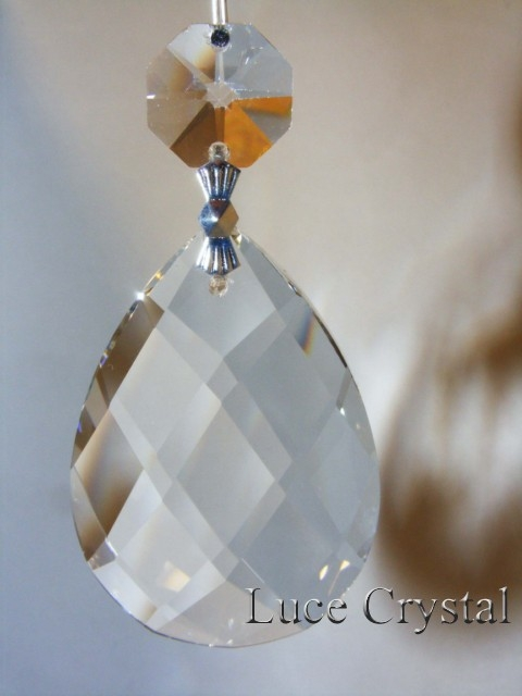 Crystal Swedish Type With Octagon KBC - Octagon chandelier crystals
