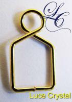 Gold Plated Hanger 55 Pcs